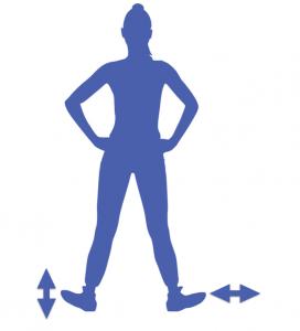 fitnes para las piernas estirando los pies